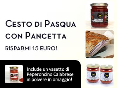 Cesto con Pancetta